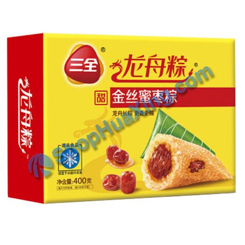 05 Chinese Date Rice Dumpling 三全龙舟粽 金丝蜜枣粽 400g