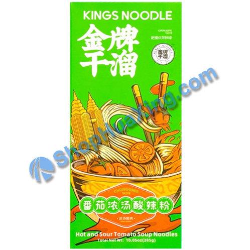 03 Kings Noodle Hot& Sour Tomato Soup 金牌干溜 番茄浓汤酸辣粉 285g