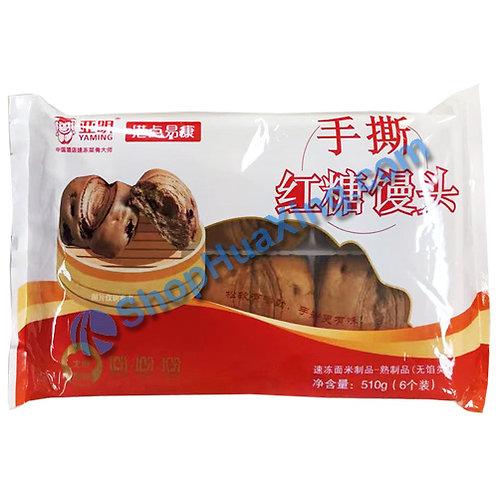 05 Brown Sugar Steamed Buns 亚明港点易康 手撕红糖馒头 510g