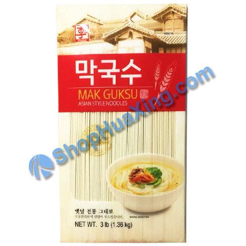 03 Mak Guksu Asian Style Noodles 李牌 韩国面 3LB