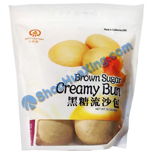 05 Brown Sugar Creamy Bun 小美点 黑糖流沙包 454g