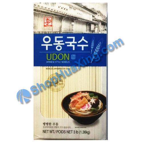 03 Udon Japanese Style Noodles 李牌 乌冬面 3LB