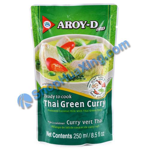 05 Aroy-d RTC Thai Green Curry 泰国绿咖喱 250ml