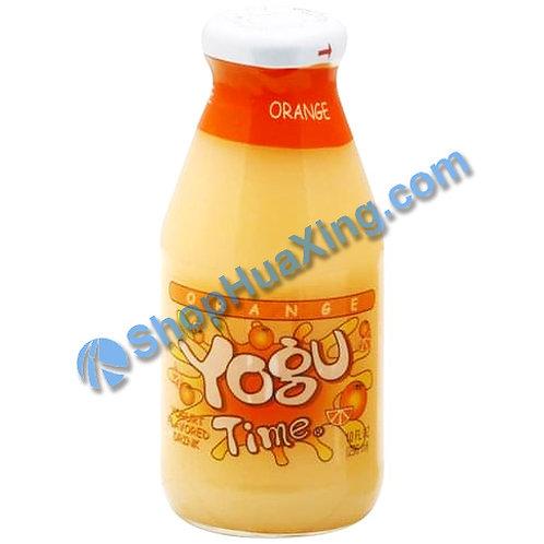 05 Yogu Time Yogurt Drink Orange Flv. 酸乳饮料 橙子味 296ml