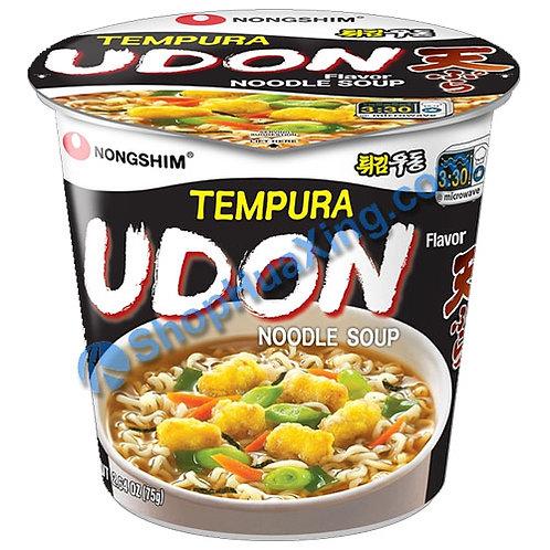 03 NongShim Tempura Udon Flv Noodle Soup 农心 乌冬味汤面 杯面 75g