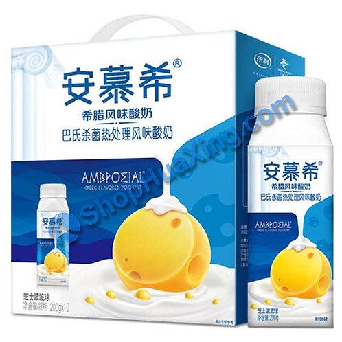 05 AMX Yogurt Drink Cheese Flv  安慕希希腊风味酸奶 芝士波波球 200g x 10 (1箱)