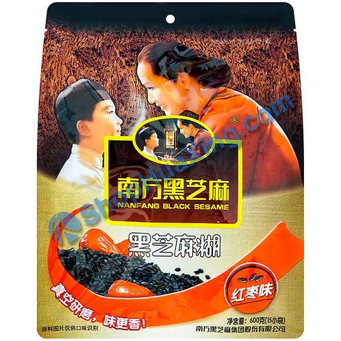 09 Black Sesame Powder Jujube Flv. 南方黑芝麻糊 红枣味 600g