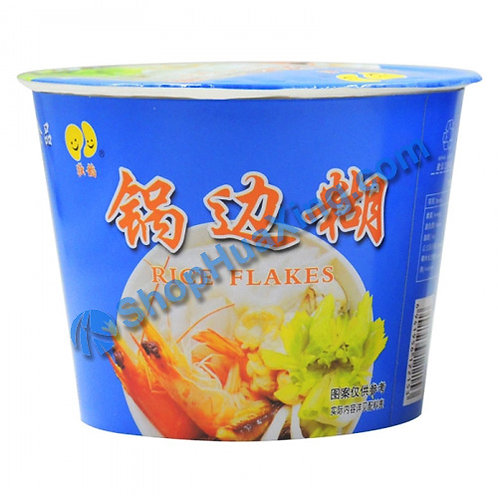 03 Rice Flakes 独稻 锅边糊 碗装 68g