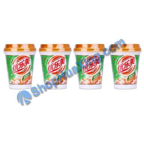 04 Instant Milk Tea Powder Wheat Flv 优乐美奶茶 麦香味 70gX4