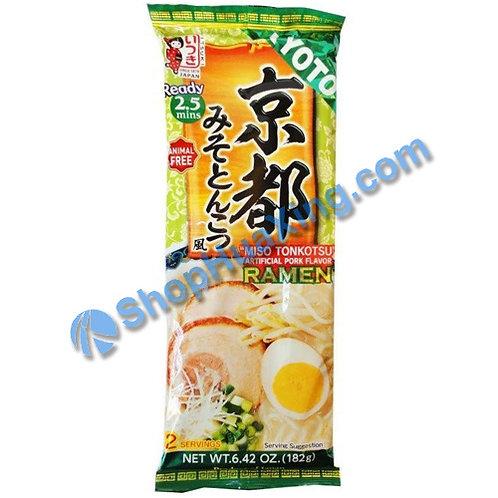 03 Itsuki Miso Tonkotsu Artificial Pork Flv Ramen 京都味噌猪骨拉面 182g