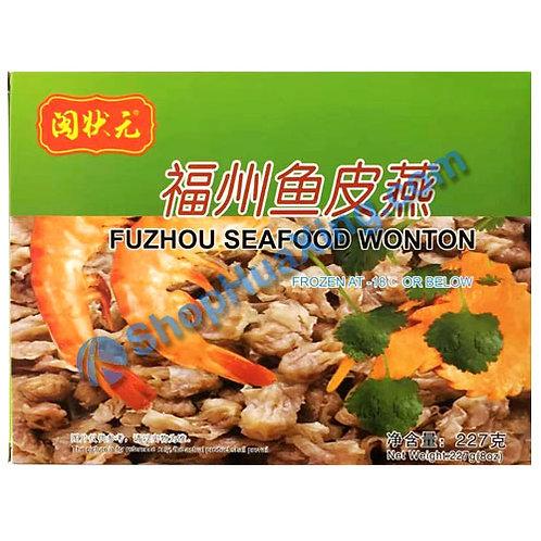 05 FuZhou Seafood Wonton 闽状元 福州鱼皮燕 227g