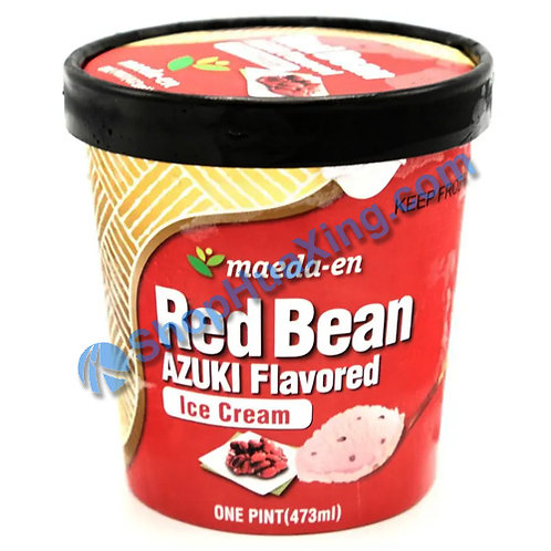 05 Maeda-en Red Bean Azuki Flv Ice Cream 红豆冰淇淋 473mL