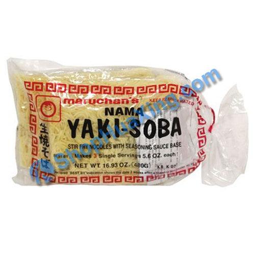 04 Maruchan's Yaki Soba 3 packs 生烧面 480g
