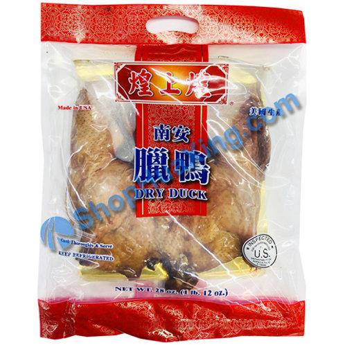 01 Dried Salty Duck 煌上煌 南安腊鸭 28oz