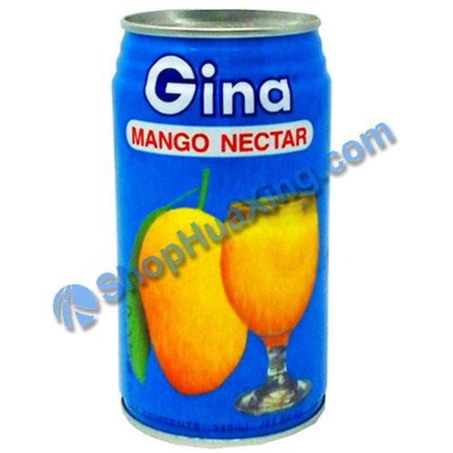 04 Gina Mango Nectar 菲律宾真雅 芒果汁 340ml