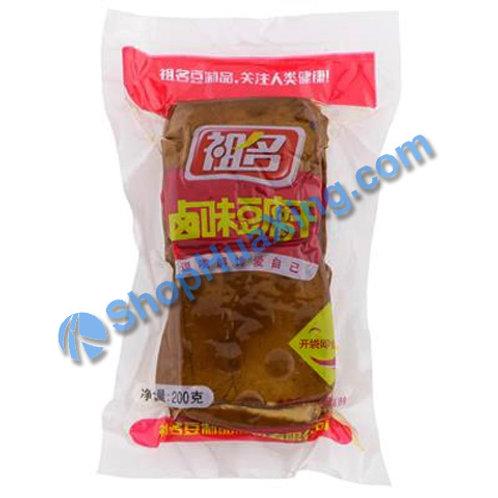 04 Braised Flv Bean Curd 祖名 卤味豆腐干 200g