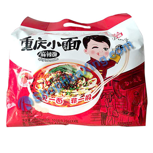 03 Spicy Hot Instant Noodle 光友 重庆小面 麻辣面 4包 420g