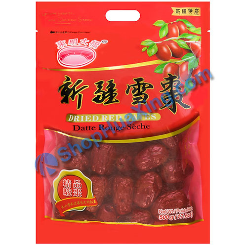 04 Dried Red Dates 东明大桥 新疆雪枣 500g