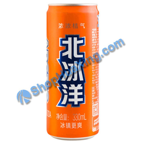 04 Mandarin Soda 北冰洋 桔汁汽水 330ml