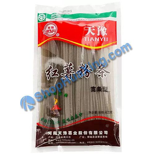 03 Baked Sweet Potato Vermicelli 天豫 红薯粉条 宽条型 400g