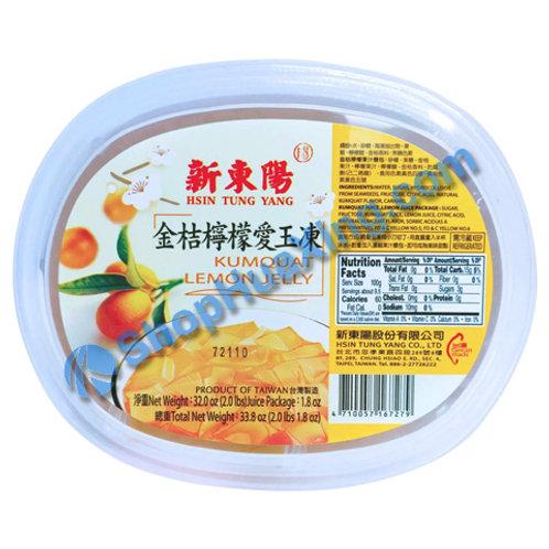 04 Kumquat Lemon Jelly 新东阳 金桔柠檬爱玉冻 33.8oz