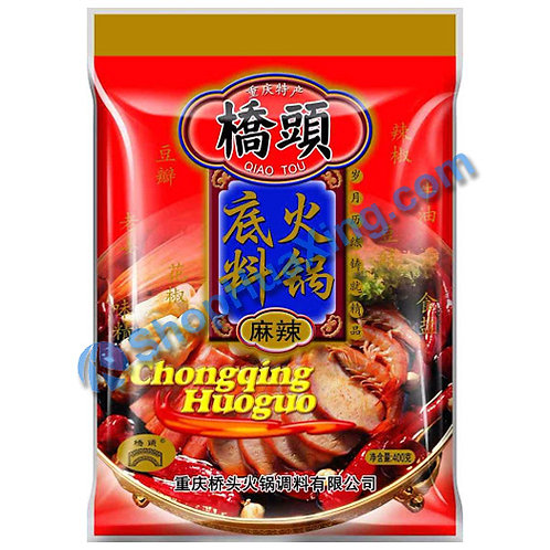05 Hot Pot Soup Base Spicy Flv 桥头 火锅底料 麻辣 300g