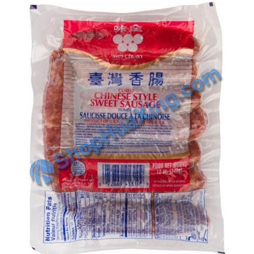 01 WC Chinese Sweet Sausage 味全 台湾香肠 12oz