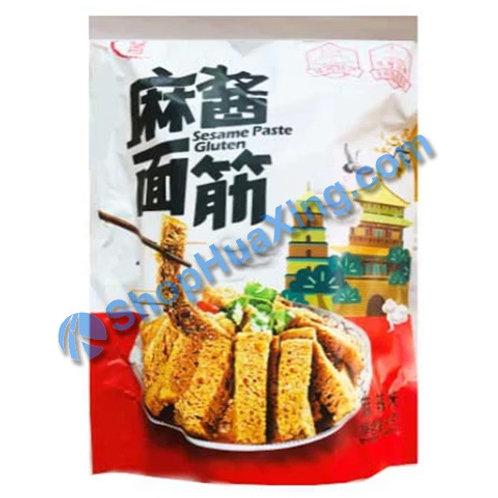 03 Sesame Paste Gluten-Spicy Flv 凤回首 麻酱面筋麻辣味 140g