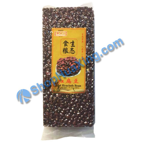 04 Long Life Nature Red Hyacinth Bean养生堂 红扁豆 1kg