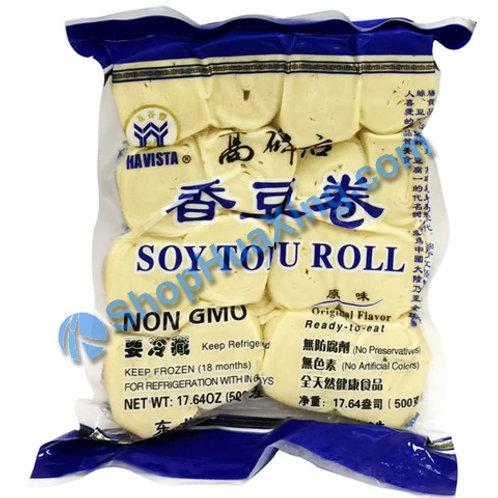 04 Soy Tofu Roll 高碑店 香豆卷 原味 500g