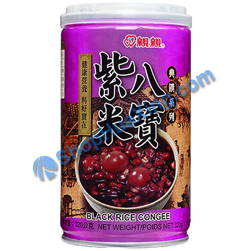 04 Chin Chin Black Rice Congee 亲亲 紫米八宝 320g