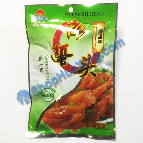 01 Jelly Fish Head Sweet Sour Flv. 海之味 海蜇头 酸甜味 150g