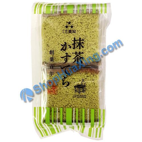 04 Wheat Cake Green Tea Flv. 三星社 抹茶海绵蛋糕 190g