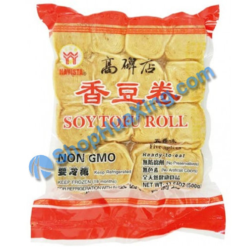 04 Soy Tofu Roll Five Spices Flv 高碑店 香豆卷 五香味 500g