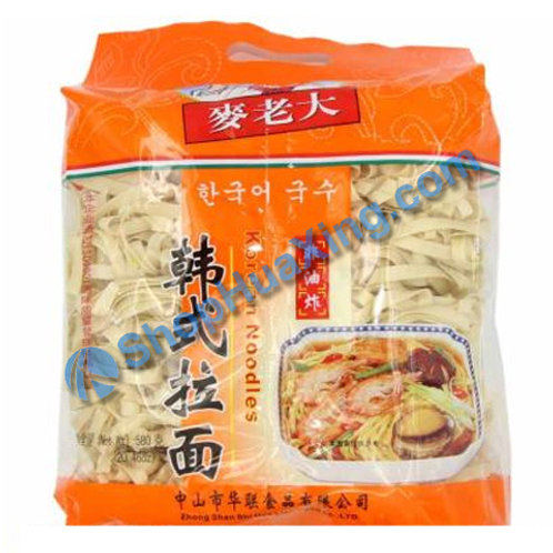 03 Dried Noodle 麦老大 韩式拉面 580g
