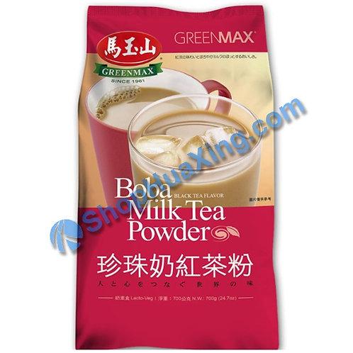 03 Boba Milk Tea Powder Black Tea Flv. 马玉山 珍珠奶红茶粉 700g