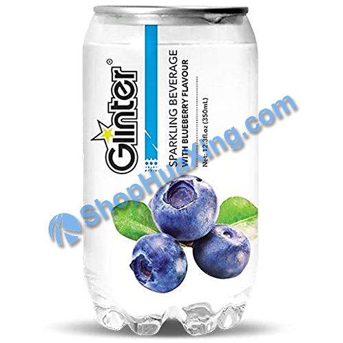 04 Glinter Sparkling Beverage w. Blueberry Flv. 苏打汽水 蓝莓味 350ml