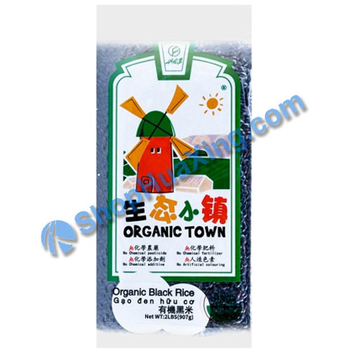 04 Organic Town Black Rice 兴龙垦生态小镇 有机黑米 2lb