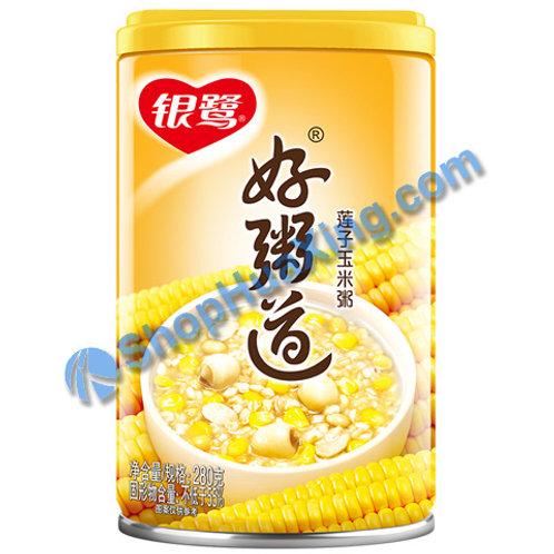 04 Lotus Seed & Corn Congee 银鹭好粥道 莲子玉米粥 280g