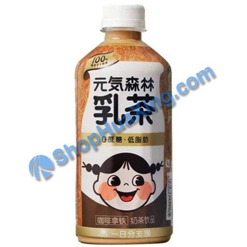 04 Genki Forest Milk Tea Coffee Flv 元气森林乳茶 咖啡拿铁 450ml