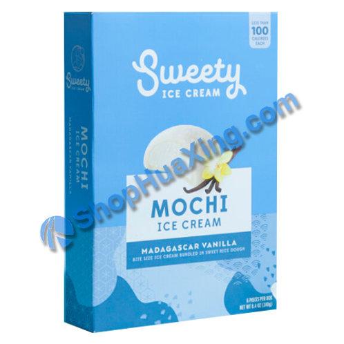 05 Sweety Mochi Ice Cream Madagascar Vanilla 香草冰淇淋 240g