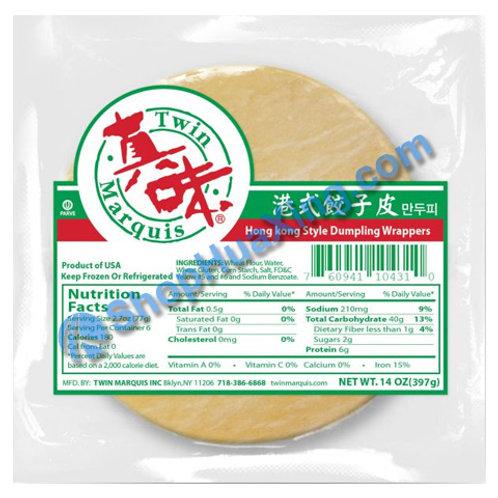06 Dumpling Wrapper 真味 港式水饺皮 14oz