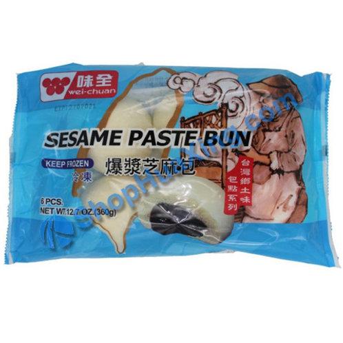 05 WC Sesame Seed Bun 味全 爆浆芝麻包 360g