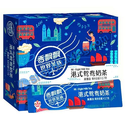 04 HK Style Milk Tea 香飘飘 港式鸳鸯奶茶 22gx12pk
