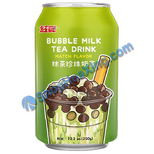 04 Bubble Milk Tea Drink Matcha Flv. 红牌 抹茶珍珠奶茶 350g