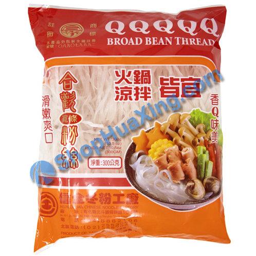 03 QQ Bean Threads 合欢牌宽条火锅粉丝 300g