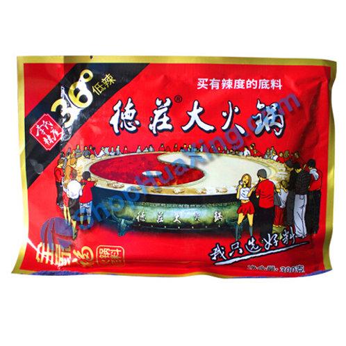 05 Hot Pot Sauce Spicy 德庄大火锅 全家福 36度低辣 300g