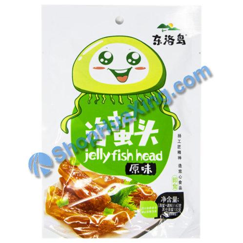 01 Jelly Fish Head Original Flv. 东洛岛海蜇头 原味 160g