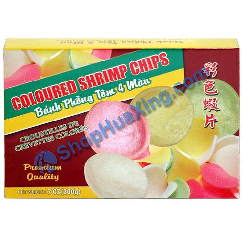 03 Colored Shrimp Chip 彩色虾片 7oz