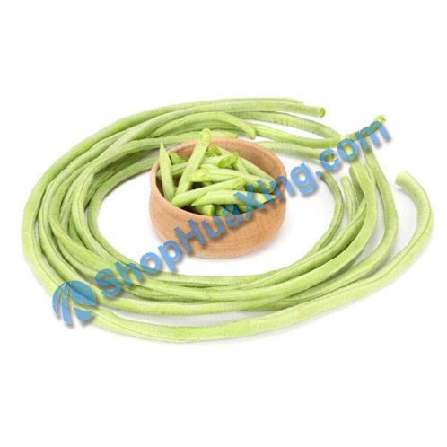 01 White Long Bean 1.4-1.6 LB 白豆角 油豆角 /包